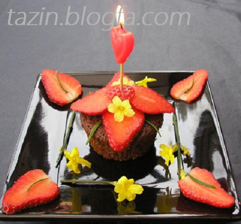 کاپ کیک روز قلبها