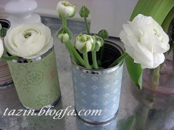 گلدان حلبی