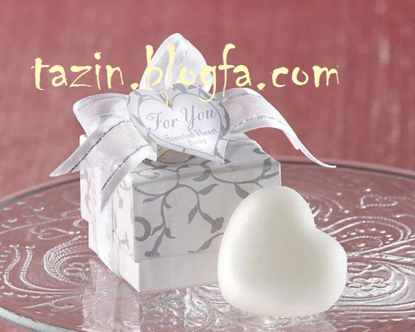 تزئین صابون