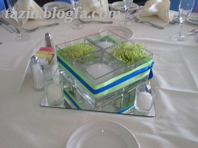 تزئین وسط میز