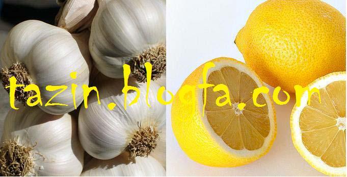 عصاره سیر و لیمو